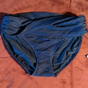 Calia overlap classic bikini bottoms size XS